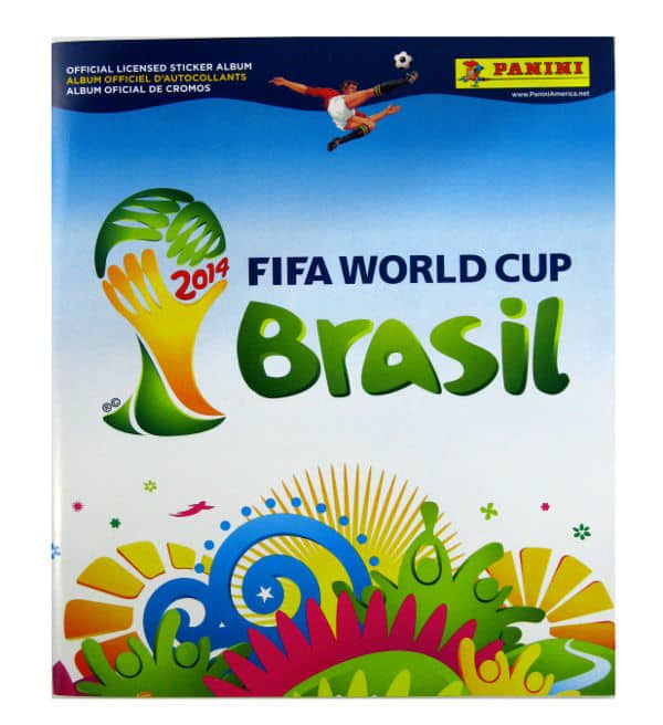 Panini World Cup Brasil 2014 Album USA Cover