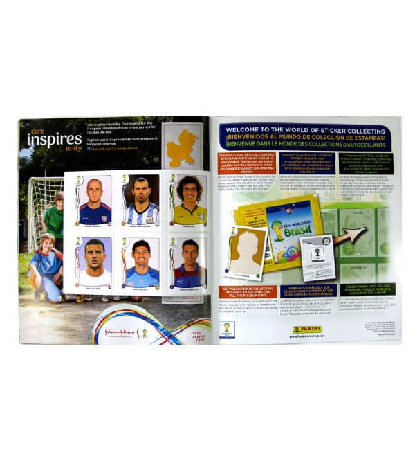 Panini World Cup Brasil 2014 Album USA Gratissticker