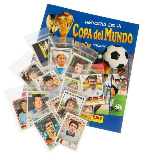 Panini World Cup Story alle Sticker + Album