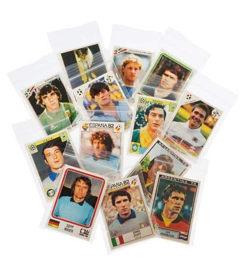 Panini World Cup Story alle Sticker verpackt