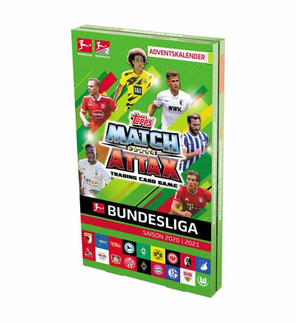 Topps Bundesliga Match Attax 2020/21 - Adventskalender