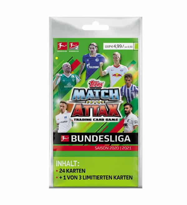 Topps Bundesliga Match Attax 2020/21 - Blister