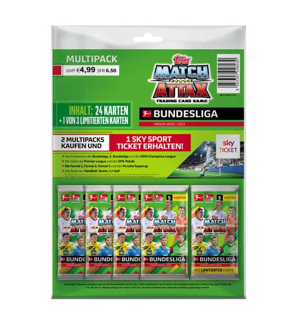 Topps Bundesliga Match Attax 2020/21 - Multipack