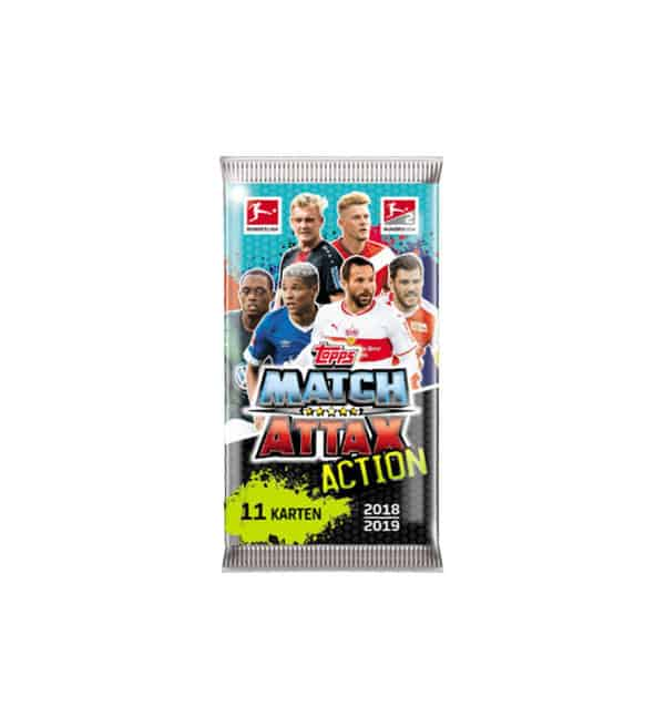 Topps Bundesliga Match Attax Action 2018/19 Tüte
