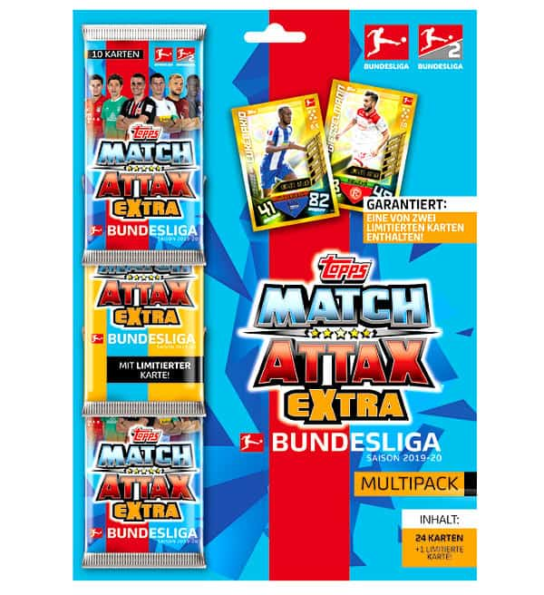 Topps Bundesliga Match Attax EXTRA 2019/20 Multipack