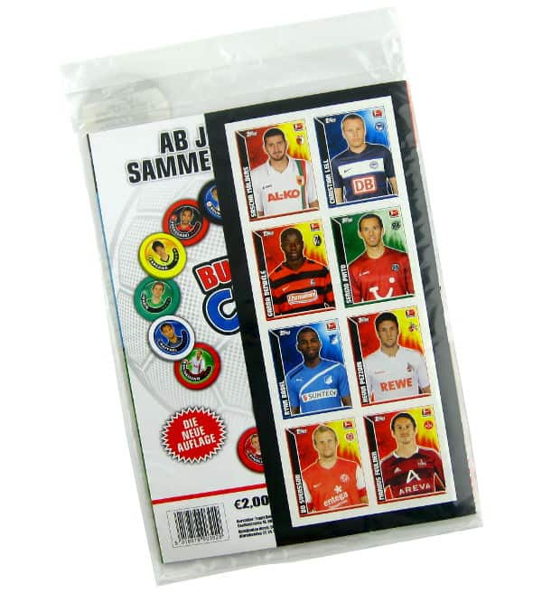 Topps Bundesliga Sticker 2011 / 2012 Starter Set