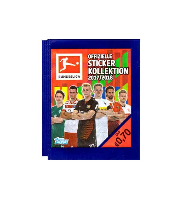 Topps Bundesliga Sticker 2017 2018 Tüte