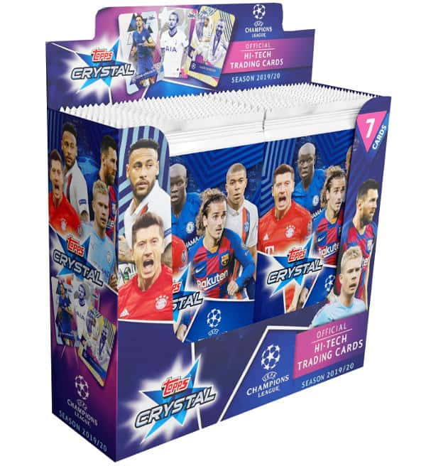 Topps Champions League Crystal Display