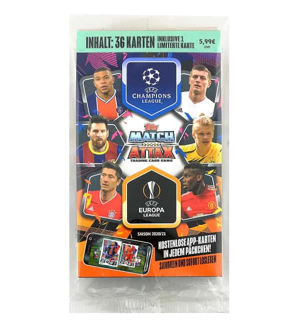 Topps Champions League Match Attax 2020/21 Blister