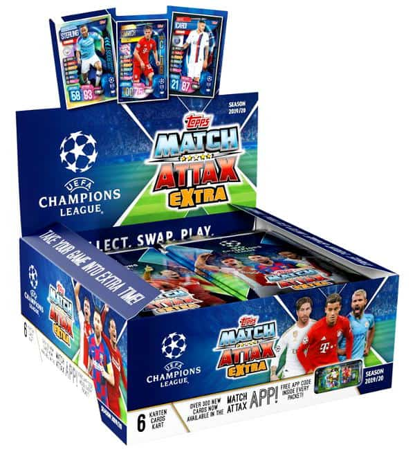 Topps Champions League Match Attax EXTRA 2019/20 Display