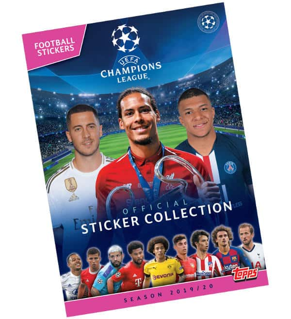 Topps Champions League Sticker 2019 / 2020 Album