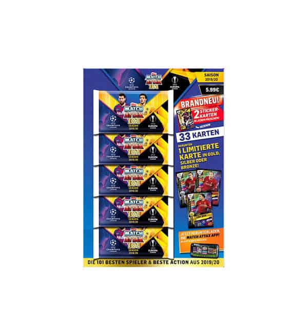 Topps Match Attax 101 2019/20 Multipack