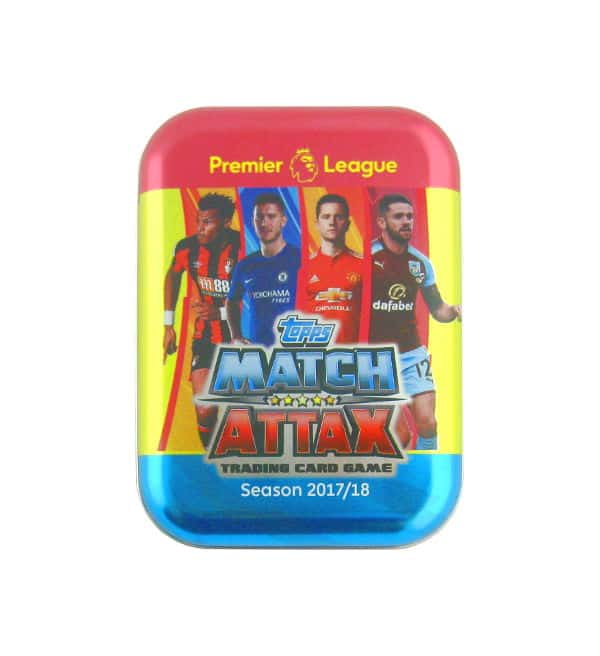 Topps Premier League Match Attax Extra 2017 / 2018 Pcoket Tin