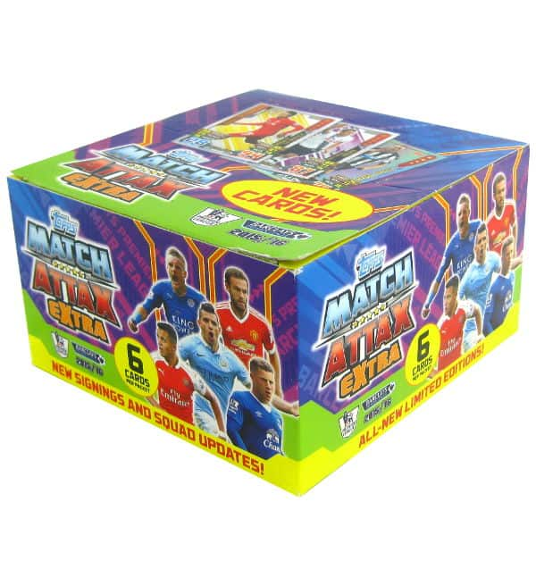 Topps Premier League Match Attax Extra 2015 / 2016 - Box 50 Tüten