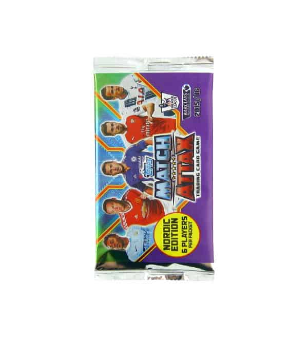 Topps PL Match Attax 2015 / 2016 Nordic Edition Tüte