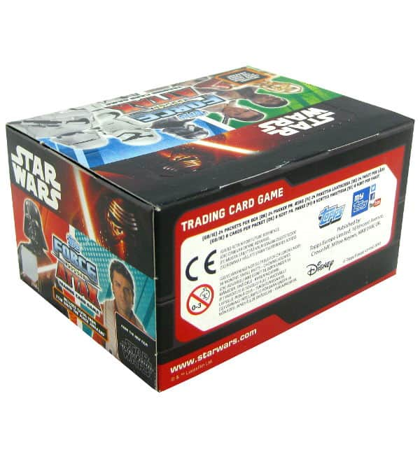 Topps Star Wars Force Attax Ep. 7 - Display mit 192 Cards