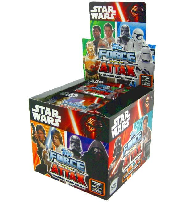 Topps Star Wars Force Attax Ep. 7 - Display mit 50 Tüten