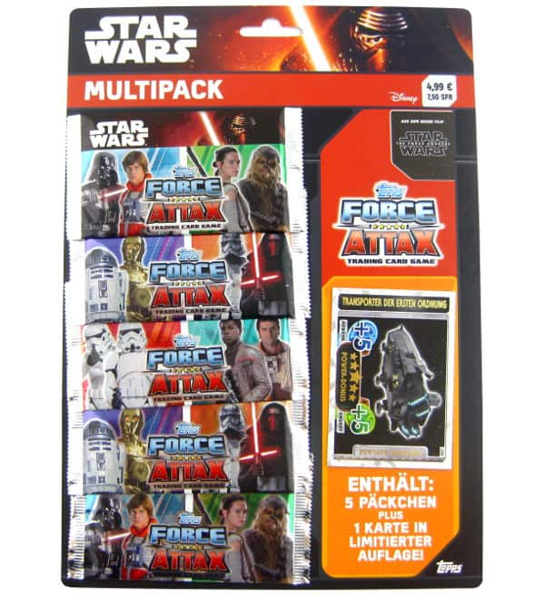 Topps Star Wars Force Attax Ep. 7 - Multi-Pack