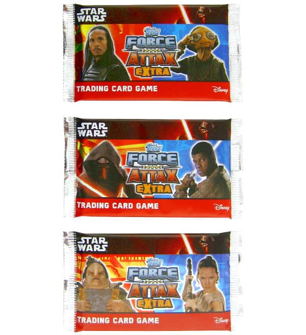 Topps Star Wars Force Attax Extra Ep. 7 - Booster