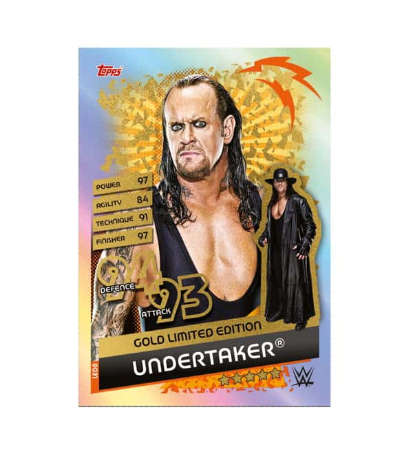 Undertaker Gold Limited Edition Card