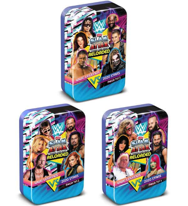 Topps WWE Slam Attax Reloaded 2020 - Mega Tin Set