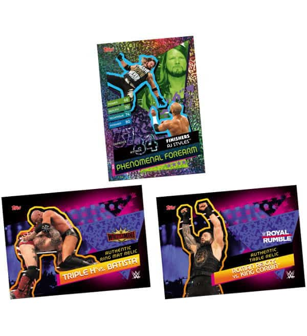 Money in the Bank Mega-Tin - Relic Cards